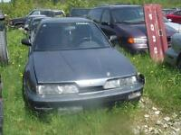 parts only 1991-1992 Accura Intregra V18 engine