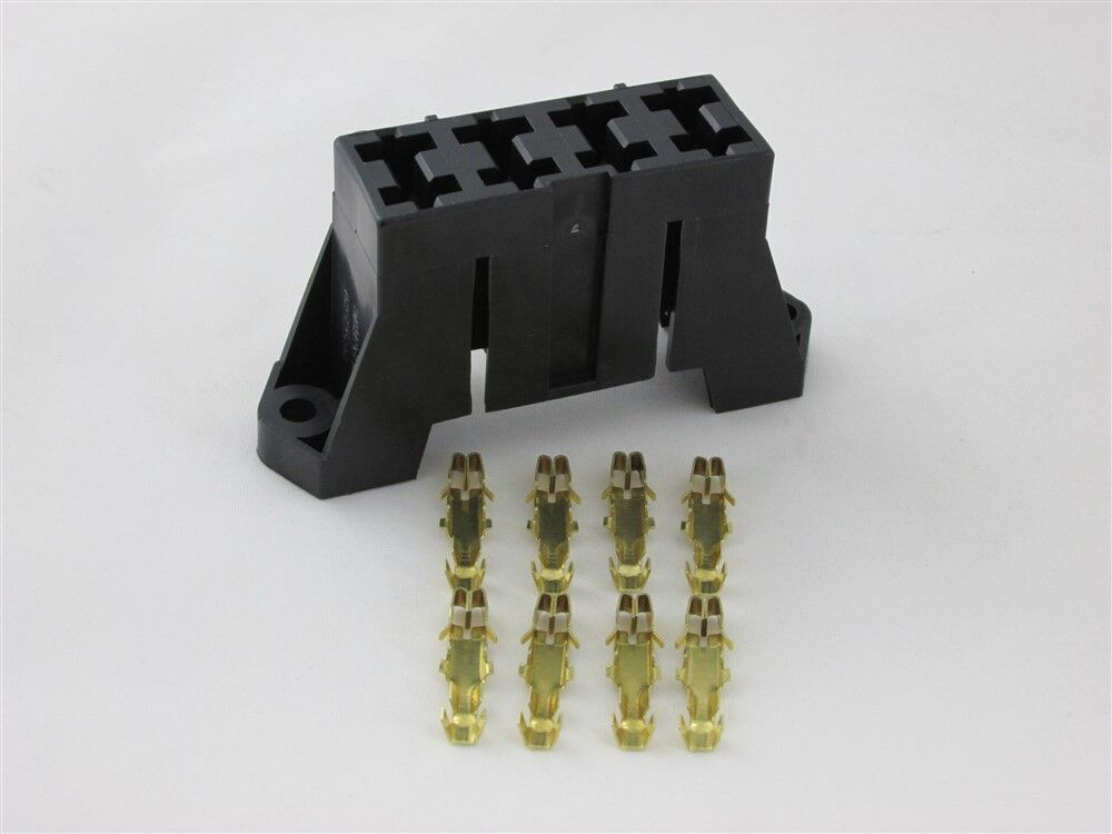 atc fuse block 4 way atc ato universal fuse holder block panel delphi packard w terminals