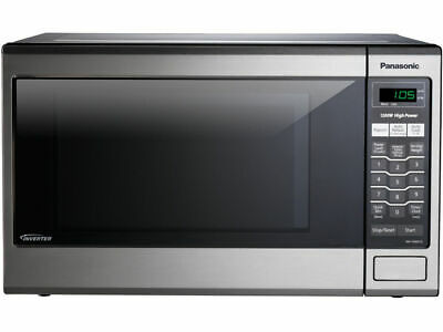 Panasonic 1.2 cubic ft. Microwave Oven with Inverter Tech., Stainless NN-SA651S