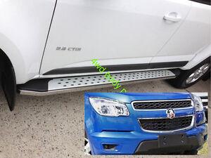 (#78) Holden Colorado 2012 to 2016 Aluminium Running Boards Side Steps