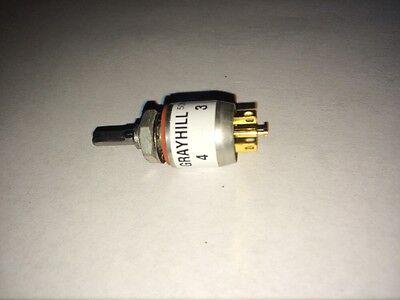 Grayhill Miniature Mil-spec Rotary Switch 50m90-01-1-02n
