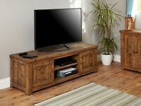 Shipton Rustic Widescreen Television Cabinet