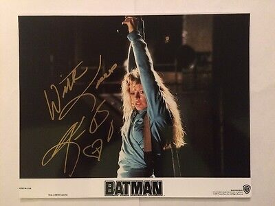 Kim Basinger Autograph Signed 8X10 Photo Batman 9 1 2 Weeks 8 Mile