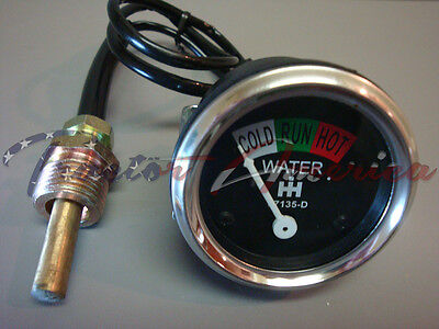 Farmall Tractor Water Temperature Gauge 67135d A H M Super A Super M 300 350 Uti
