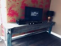 Large Indian Style Console Table