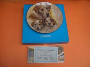 POINTERS COLLECTOR PLATE BY LEE JANSEN London Ontario image 1