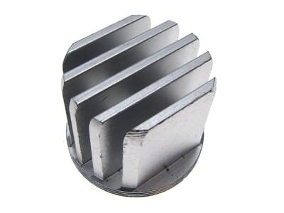 Aluminum Round Heat Sink For 1-5 Watt Power Led D37mm