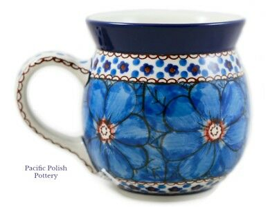 Polish Pottery Stoneware 16oz UNIKAT Large Bubble Mug  (73-408c) Chyla   ()