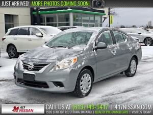 2014 Nissan Versa SV | Bluetooth, Cruise Control, Air Conditioni