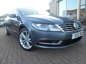 VOLKSWAGEN CC TDI BLUEMOTION TECHNOLOGY (grey) 2012