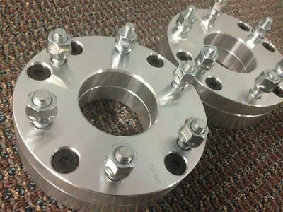 """(2) 5X4.5 TO 6X5.5 Conversion Wheel Adapters 