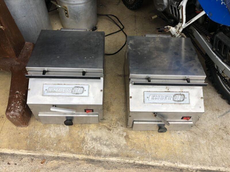 Ember Glo Countertop Food Steamer - Pair Of Working Machines