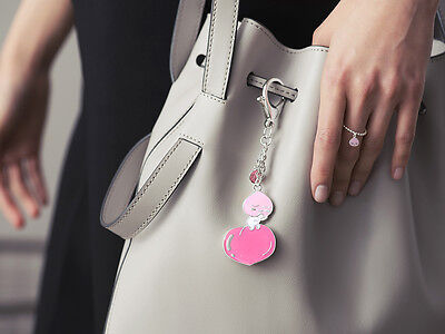 [KAKAO FRIENDS] APEACH Pendant Handbag Charm Key-ring & Gift Bag Free Tracking