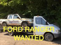 WANTED!!!! JEEP FORD RANGER ANY CONDITION