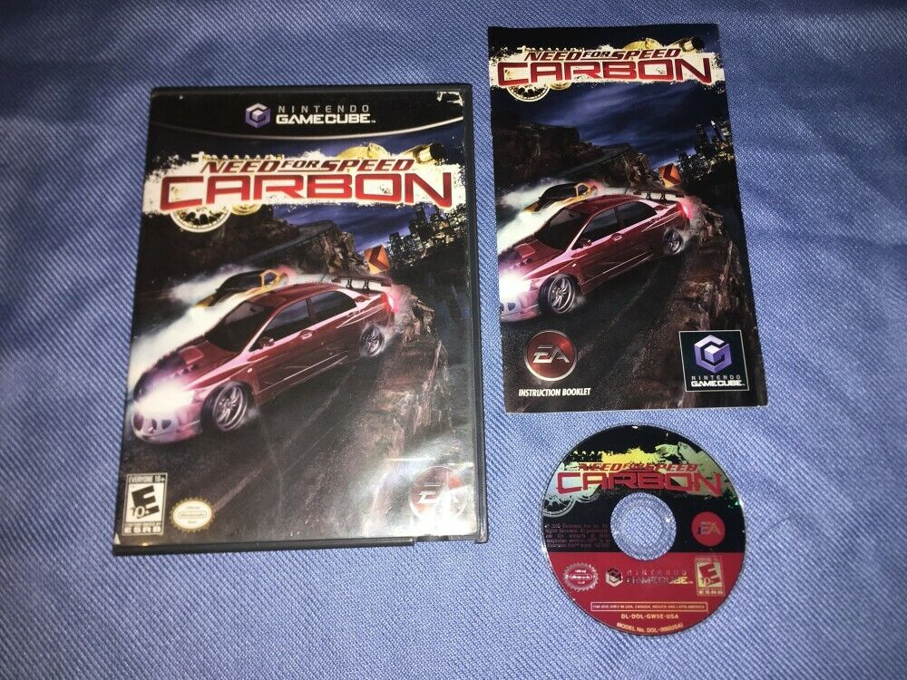 Need For Speed Carbon Nintendo Gamecube Complete In Box Cib