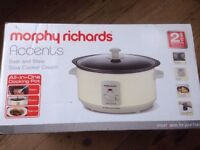 Morphy Richards Slow Cooker Brand Used Unopened Never Used