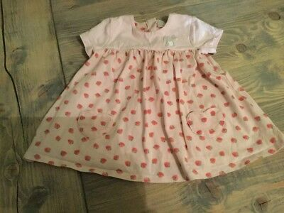 Mini Club  Baby Girl Pink  Dress, Size 6-9 Months up to 9kg