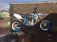 Husaberg 650 supermoto on road race bike not motocross crosser kx Cr yz rm