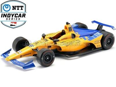 2019 Chevrolet IndyCar McLaren 66 Fernando Alonso 1:18 Greenlight 11061