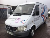 Mercedes Sprinter 208CDI breaking parts available door wing bonnet bumper radiator seats