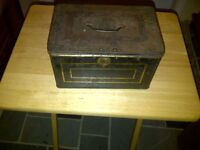 Antique Cash Tea Box