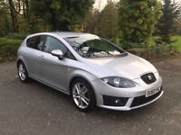 SEAT LEON FR TFSI 2.0 TURBO 2010 GENUINE MILEAGE FACELIFT HPI CLEAR XENONS FULL HISTORY** PX~~