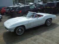 Chevrolet Corvette Auto Petrol CONVERTIBLE White 1965 54000 (white) 1965