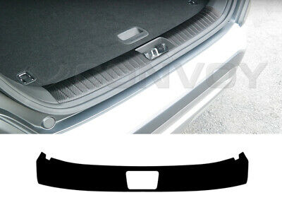Trunk Scratch Protect Interior Carbon Cover Molding (Fits: HYUNDAI 2017+ Kona)
