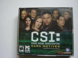 CSI Dark motives en anglais