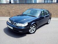 SAAB 9-5 95 SE 2.3 TURBO AUTOMATIC SALOON, FSH, VERY CLEAN THROUGHOUT!! LONG MOT