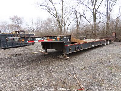 2007 Trail King Tk80ht-482 48 Ta Equipment Trailer Hyd Dove Tail Bidadoo