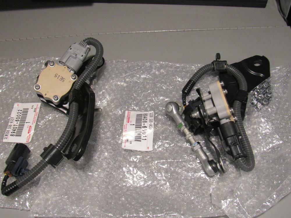 03 09 Oem New Set Lexus Gx470 Height Control Sensor Rear