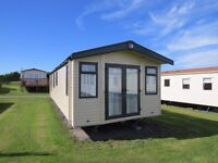 New 2017 Swift Burgundy Static Caravan Holiday Home sited at Gwynfair Caravan Park in Anglesey