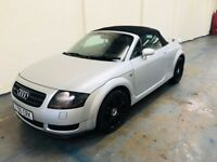 Audi TT 1.8 turbo roadster in stunning condition full service history mot till June 18
