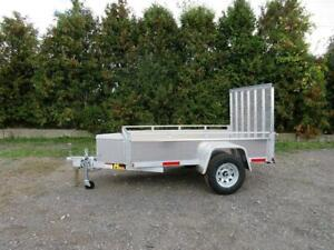 Miska 5x8 Aluminum Utility Trailer - Canadian Made