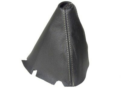 Shift Boot For MERCEDES W203 FL C-CLASS 2004-2007 Manual Black Leather Beige St