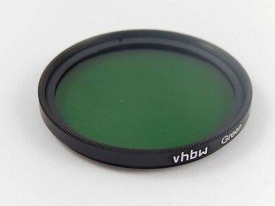 Kamera Farbfilter mit Innen- und Außengewinde grün für 40,5mm Objektivgewinde