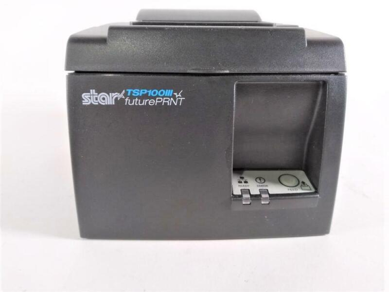 Star Micronics TSP100 Series, Thermal Receipt Printer, Gray-Preowned