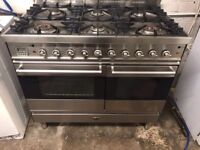 Britannia range gas cooker and electric ovens 100cm