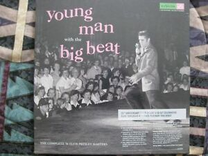 ELVIS PRESLEY YOUNG MAN WITH THE BIG BEAT BOX SET 5 CDs SEALED Kitchener / Waterloo Kitchener Area image 1