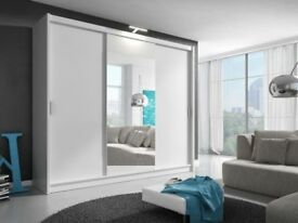 CHEAPEST PRICE OFFER 60% OFF 2 OR 3 DOOR WARDROBE SLIDING MIRROR IN DIFFERENT COLOR