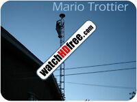 DISMANTLING OF TV ANTENNA TOWERS 514 400-2159 SERVICE 24/7