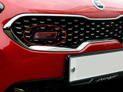 Stinger GT Turbo Grille Point Emblem (Fits: KIA 2018+ Stinger)