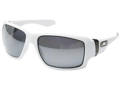 Oakley Big Taco Polarized Sunglasses OO9173-12 Polished White/Black (Big White Sunglasses)