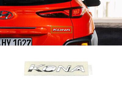 OEM Chrome 1.6T Emblem Point Badge for HYUNDAI 2017-18 Kona