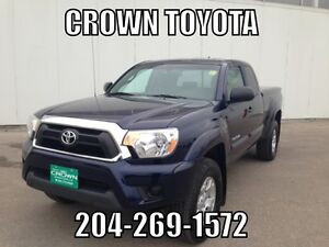 2012 TOYOTA TACOMA SR5 A-CAB 4WD V6! LOCAL TRADE IN @ CROWN TOY