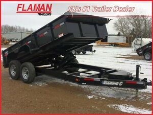 2016 Diamond C 24LPD Dump Trailer