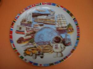 EXPO 86 WORLD EXPOSITION COLLECTOR PLATE