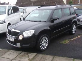 SKODA YETI SE TSI 4WD 1.8 (black) 2010