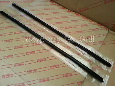 Toyota Corolla cp AE86 Roof Side Rail Weatherstrip LH + RH set NEW Genuine Parts